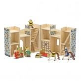 Zamek rycerski drewniany rozkładany